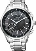 Citizen Watch Exceed Cc3050-56e Black Dial Eco Drive Gps Titanium Menand039s
