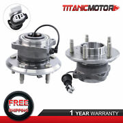 Lh And Rh Rear Wheel Bearing Hub Assembly And Abs For Chevy Equinox Suzuki Xl-7