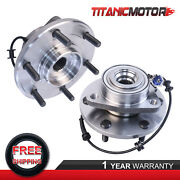 Front Rh And Lh Wheel Hub Bearing Assembly For Infiniti Qx56 Nissan Titan 515066