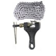 Bike Bicycle 415 110 Link Chain With Chain Breaker Removal Cutter 49cc 50cc 80cc