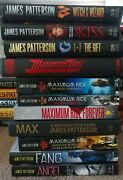 11 James Patterson Maximum Ride, Witch And Wizard Ya Novels Mixed Lot Hc/pb Exclnt