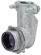 Madison Electric 4 90 Degree Squeeze Connector L-110-10 Zink Die Cast