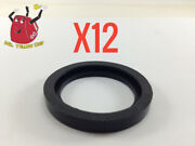 12 New Rubber Gaskets Gas Can Spout Gott Rubbermaid Blitz Wedco Scepter Eagle