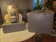 Antique Salesman Sample Holland 250a Home Heating Furnace-carry Case-coal Stove