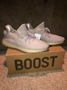 Yeezy Boost 350 V2 Sesame Size 10.5/comes With Box Receipt From Flight Club