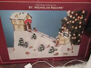 The Village Collection By St. Nicholas Square Animated Ski Hill