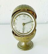 Welby Golf Ball Clock Vintage Germany Gold Working Clock Glow In The Dark