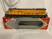 ✅williams Union Pacific U33c Diesel Engine W/ Horn And Lionel Type Couplers