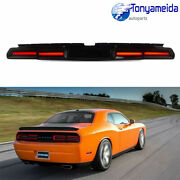Smoked Led Tail Lights Lamp For Dodge Challenger 2008-2014 Sequential Indicator