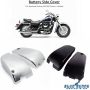 For Kawasaki Vn 1500 N Vulcan Classic Fi Nomad Battery Side Cover Left And Right