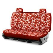 For Ford Explorer Sport Trac 01-02 Hawaiian 2nd Row Red Custom Seat Covers