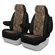 For Lincoln Mark Lt 06-08 Camo 1st Row Migration Ll W Black Custom Seat Covers