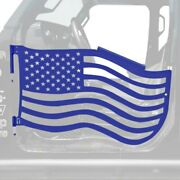For Jeep Gladiator 20 Trail Door Kit Premium American Flag Style Southwest Blue