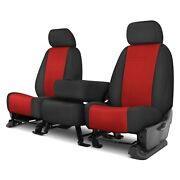 For Ram 2500 11-12 Rixxu Neo Series 1st Row Black And Red Custom Seat Covers