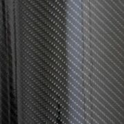 5and039 X 120and039 120and039 5and039 Ultra Gloss Epoxy Black Carbon Fiber Vinyl Car Wrap Film