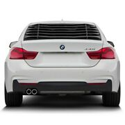 For Bmw 440i 2017-2018 Vicrez Lv Style Rear Window Louver Unpainted