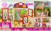 Barbie Sweet Orchard Farm Playset With 25+ Pieces Barn, Animals And More