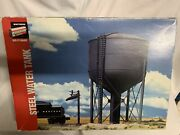 ✅walthers O Steel Water Tank Building Kit Accessory O Scale Gauge Tower Train