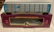 ✅mth Premier Rock Island Corrugated Auto Carrier 20-98922 Screened Rack Ttx