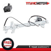 Front Driver / Lh Power Window Regulator +motor For Ford Econoline 9c2z1523201a