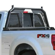For Ford F-250 Super Duty 17-19 Rc88 Headache Rack W Integrated Tail Lights