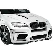 For Bmw X5 10-13 Af-5 Style Fiberglass Wide Body Front Bumper Cover Unpainted