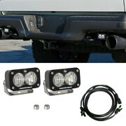 For Ford F-150 17 Lights Rear Bumper Mounted S2 Sport 3x2 2x12w Rectangular