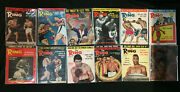 The Ring Boxing Magazine 1966 Complete Jan-dec Cassius Clay Muhammed Ali