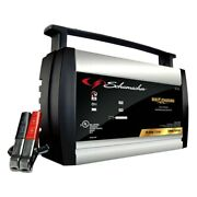 Schumacher 6v/12v 10 Charging Amps Portable Fully Automatic Battery Charger
