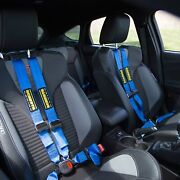 For Mini Cooper 07-13 Schroth Quickfit Pro Driver Side Harness Set Blue