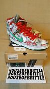 Nike Sb Concepts Dunk High Ugly Christmas Sweater Size 9.5