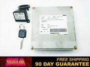 2002 Nissan Pathfinder Ecu Ecm Engine Computer Key And Immobilizer Mec14-345