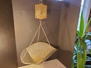 Antique Chatillonand039s Family Scale New York General Store Hanging Produce Hardware