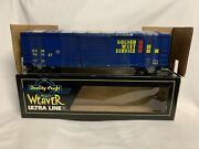 ✅weaver Golden West Service 50' Modern Box Car W/ Lionel Type Couplers O Scale