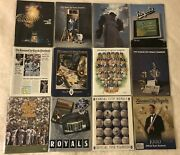 1988-1999 Kansas City Royals Yearbooks Complete 12 Year Run George Brett Nrmt