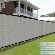 Shade Cover Fence Privacy Wind Screen Mesh Cover Fabric Artificial Fence Panel