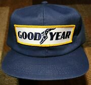 Vintage Goodyear 80s Usa Made K-products Hat Cap Snapback Tire Automotive Patch