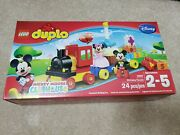 Lego 10597 Duplo Mickey Mouse Clubhouse Birthday Parade Building Toy Train Cake