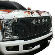 For Ford F-250 Super Duty 17-19 Main Grille 1-pc Vx Series Cannon Gen 2 Style