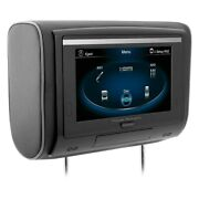 Monitor 9 Touchscreen Headrest Lcd Monitor W Built-in Dvd Player And 3