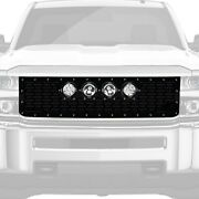 For Chevy Silverado 1500 14-15 Main Grille 1-pc Vx Series Cannon Gen 2 Style