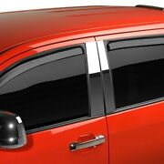 For Chevy Silverado 2500 Hd 07-14 Window Visors In-channel Element Tinted Front