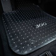 For Bmw X1 13-15 1st, 2nd Row And Cargo Mat Folded Up Seats Clear Floor Mat Set
