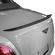 For Bentley Continental 13-15 Lip Spoiler Lineatesoro Style Medium Taller Rear
