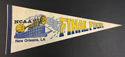 1987 Ncaa Basketball Pennant Final Four New Orleans La Vintage College Ball