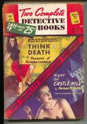 Two Complete Detective Books 51 7/1948-2 George Gross Gga Cover-mr And Mrs Nor...
