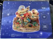 Disney The Little Mermaid Under The Sea Collectors Musical Snowglobe Brand New