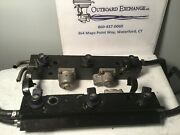 Mercury Optimax Di Fuel Rail Starboard And Port And Injectors 804527