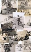 Lot 18 Bandw Photos Beach 1938 Corona Del Mar And More Girls And Boys Good Times