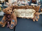 Collection Of Boyds Bear Figurines